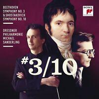 SINFONIE 3/SINFONIE 10 - MICHAEL SANDERLING/DRESDNER PHILHARMONIE  CD NEW
