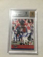 LADAINIAN TOMLINSON 2001 Pacific AUTO RC BGS 9 Mint Chargers Signed Rookie /1500