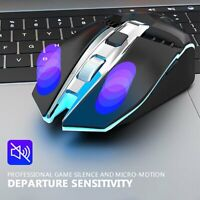 X5 Bluetooth 5.0+3.0+2.4G Wireless Three Mode Mute Rechargeable Gaming Mouse