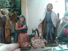 nativita 3 pz pastori 15 cm resina maria gius. gesu presepe crib shepherd gia 85