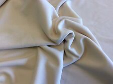 CREAM POLY KNIT-61 INCH WIDE- 1 3/4 YARDS