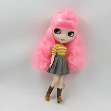 "Takara 12/"" Neo Blythe Nude Doll Light Purple Hair from Factory TB233"