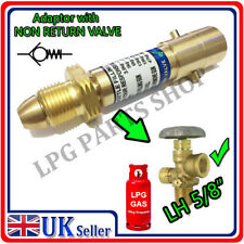 LPG Propane Bottle adaptor with NRV gas autogas caravan refill motorhome camper