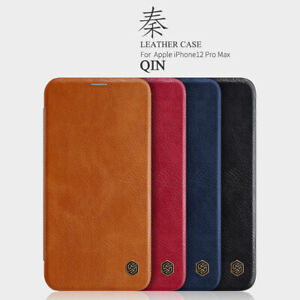 Nillkin Genuine Leather Wallet Cover Flip Case for iPhone 12 Pro Max 12 Mini