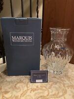 "Marquis By Waterford Crystal Sheridan 10"" Vase"
