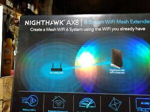 Nighthawk AX8 Wifi6 Extender