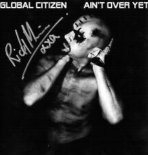 Global Citizen - Ain't Over Yet - SIGNED Gatefold Sleeve Marbled Grey 7'' Vinyl
