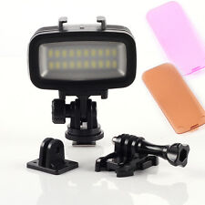 40m Underwater Waterproof Diving Video LED Light Lamp for GoPro Hero 3 4 DSLR