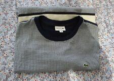 Lacoste 100% Genuine Men's t-shirt  Size 3XL (XXXL) '8' FREEPOST.