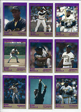 Bobby Bonilla Pirates NY Mets 1991 Star Company Stellar Set (9) Limited /500