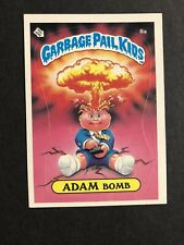 1985 Garbage Pail Kids Series 1 Adam Bomb 8A 1st  Series GPK OS1 Matte NM/MINT