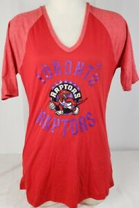 Brand New Majestic NBA Toronto Raptors Hardwood Classics Short Sleeve Shirt