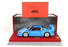 Ferrari F40 Blu BBR 1:18 no MR Looksmart ! RARE !