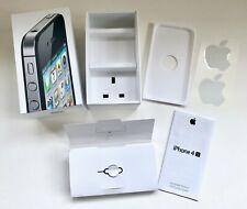 Genuine Apple iPhone 4S Black 32GB Retail Box MD242B/A + Literature - NO IPHONE