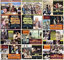 BRUTTI SPORCHI E CATTIVI SET FOTOBUSTA 8+2 SOGG. SCOLA NINO MANFREDI VESPA 1976