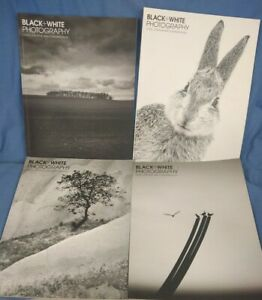 Bundle Of Four Issues Black And White Photography Magazine From 2015 (G2)