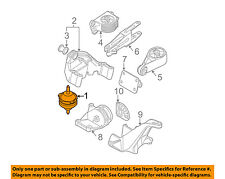 MINI OEM 02-04 Cooper-Engine Motor Mount Torque Strut 22116760448