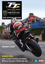 TT 2016 OFFICIAL REVIEW ISLE of MAN Tourist Trophy MICHAEL DUNLOP - NEW  DVD UK