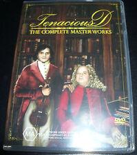 Tenacious D (Jack Black) Complete Masterworks (Australian PAL) 2 DVD - Like New