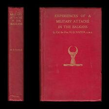 EXPERIENCES OF MILITARY ATTACHÉ BALKANS 1914-15 Serbia GREECE Venizelos BULGARIA