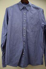 Brooks Brothers 100% Cotton Blue French Cuff Dress Shirt Size - 15 1/2  34