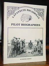 Lafayette Escadrille Pilot Biographies, American Fighters In French Air Service