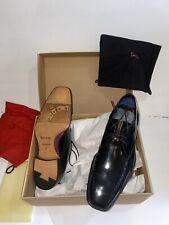 PAUL SMITH Men's Black Leather Lace Up Oxford Shoes Sz 10US Brand NEW InBox £140