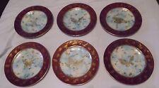 6 Wedgwood Butterfly Luster / Lustre Dinner Plate - Fairyland ??