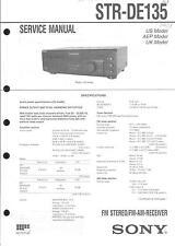 Sony Original Service Manual für STR- DE 135