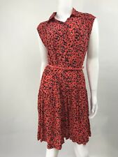 NWT French Connection Woman Dress Orange Animal Print  SZ 6 $148