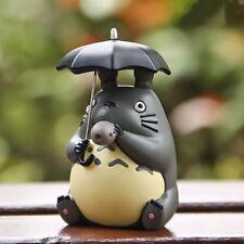 Studio Ghibli My Neighbor Totoro Figure Blowing Ocarina Umbrella Model Toy 5CM