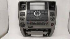 2008-2012 Nissan Armada Am Fm Cd Player Radio Receiver 59334