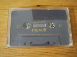 Maxell XL2 - S 90, Type2/IEC 2, High Position, Cassette, MC , Kassette