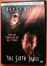 The Sixth Sense DVD Region 2 Bruce Willis Osment Collette Wahlberg Shyamalan
