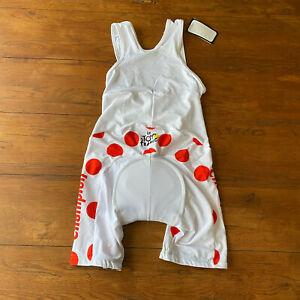 KOM XL Cycling Bibshorts Compression Shorts Bib Replica Tour De France TDF