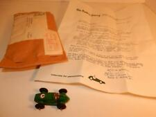 VINTAGE 1969 MODEL TOY RACE CAR MAIL AWAY PRICE BROTHERS COMPANY DAYTON OHIO