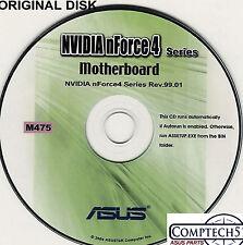 ASUS GENUINE VINTAGE ORIGINAL DISK FOR A8N-SLi DELUXE Motherboard Disk M475