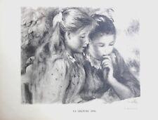 Pierre Auguste Renoir Heliogravure Limited La Lecture 1921