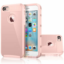 For Apple iPhone 5 5S SE Cover Case Shockproof Hybrid Rugged Rubber Armor Hard