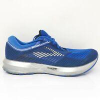 Brooks Mens Levitate 1102691D406 Blue Running Shoes Lace Up Low Top Size 7.5 D