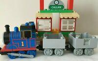 Lego Duplo Train Thomas The Tank Engine & Callan Station - Thomas & Friends