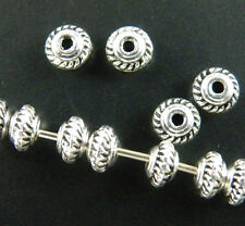 1000pcs Tibetan Silver Little Bicone Spacer Beads Jewelry DIY 5x3mm zn664