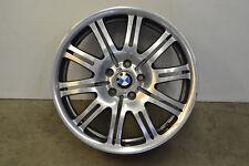 "BMW E46 M3 Style 67 10 Double Spoke Front Wheel 19"" 19x8 Genuine Oem 2001-2006"
