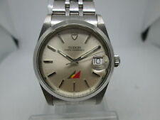 TUDOR PRINCE OYSTERDATE WITH PAL LOGO STAINLESS STEEL AUTOMATIC MENS WATCH