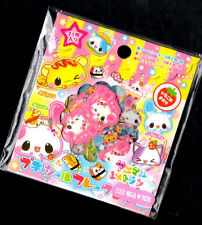 Rare Kamio Japan Kawaii Stickers Sack sticker flakes Animals Fast Food Burger
