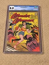 Wonder Woman 49 CGC 8.0 OW/White Pages (Classic Cover- 1951!!) + magnet