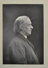 Fine 1890 Cabinet Card Portrait Dr Benson Archbishop Canterbury Rugby W&D Downey