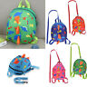 Cartoon Toddler Dinosaur Safety Harness Strap Bag Backpack with Reins for kids