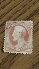 Lincoln Unc 1873 Rose 6 Cent War Department Scott's #O86 Original Gum