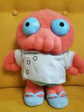 "RARE - Futurama plush Dr. Zoidberg 12"" tall Toynami doll toy 1st. series"
